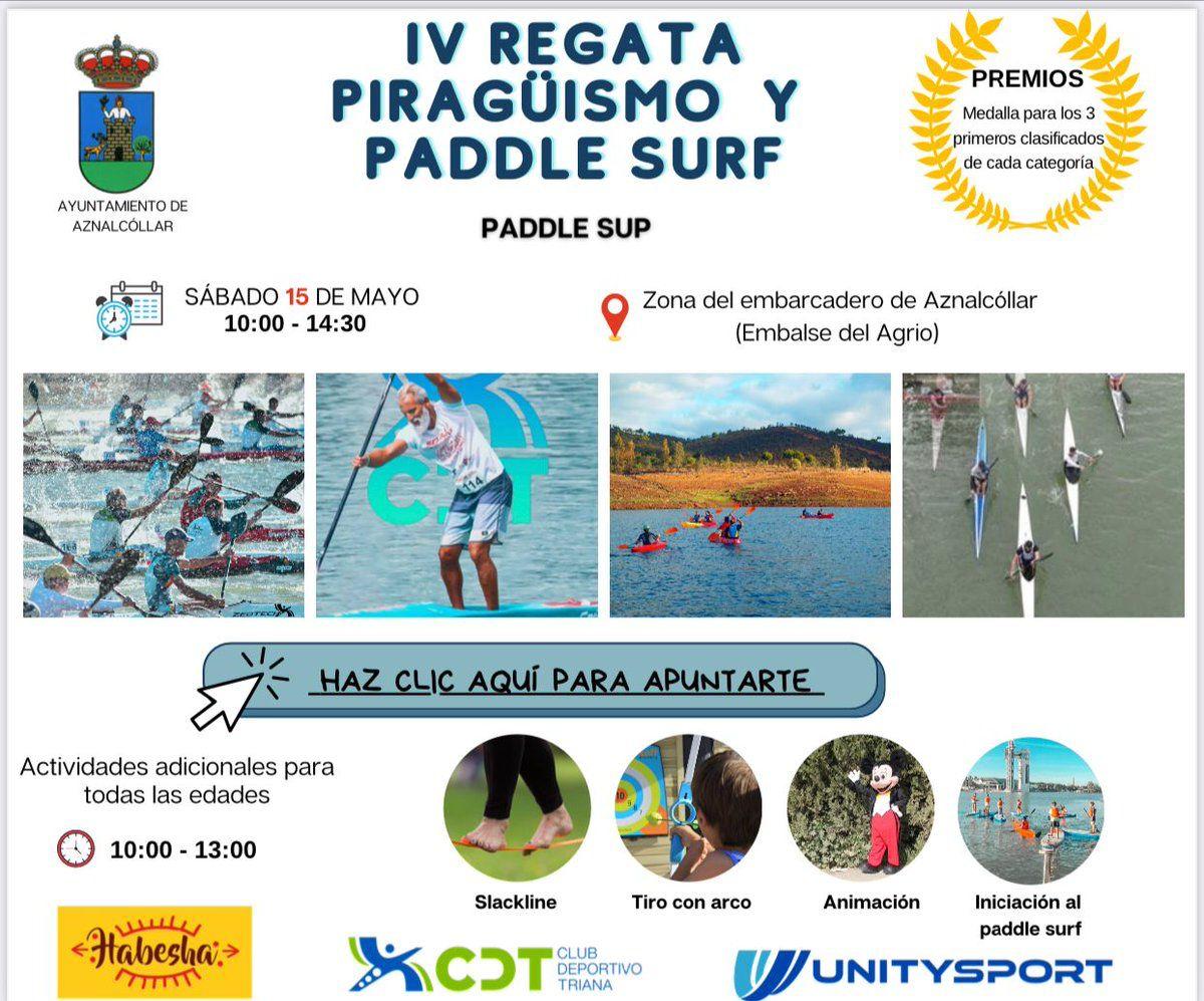 IV REGATA PIRAGÜISMO Y PADDLE SURF